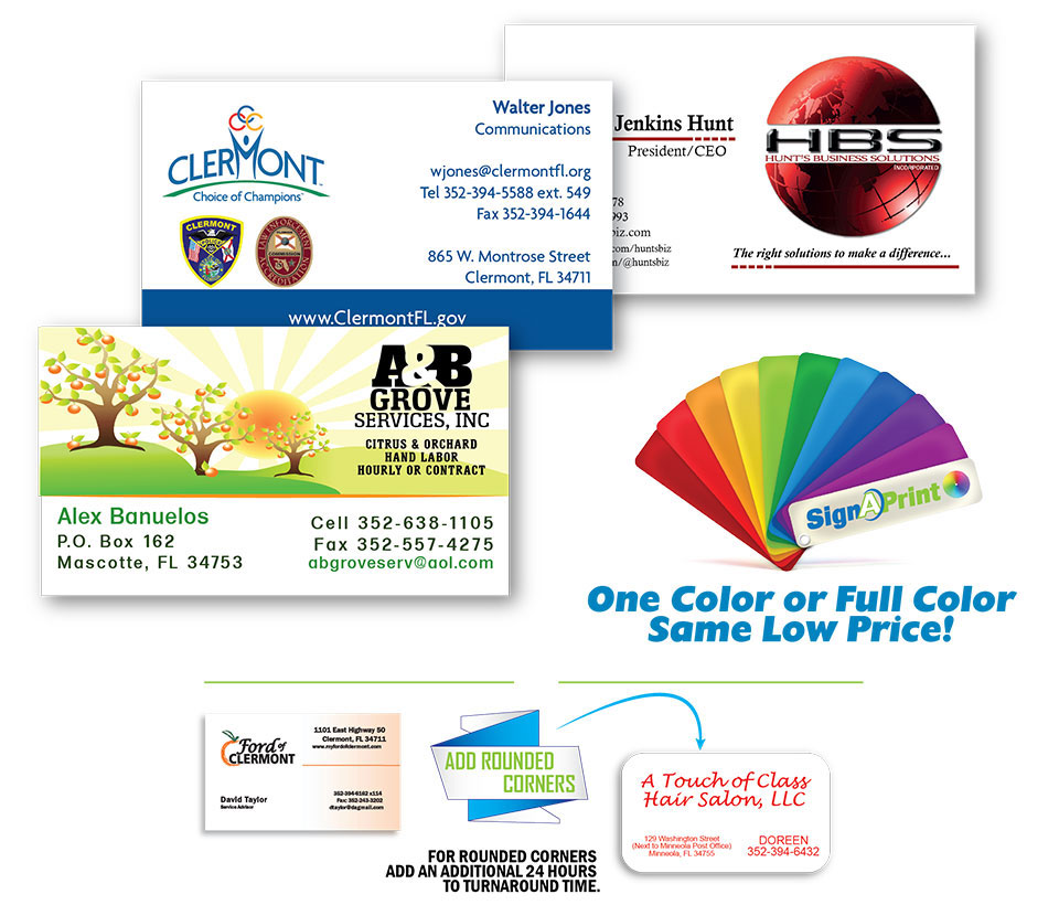 South Lake Quick Print Business Cards